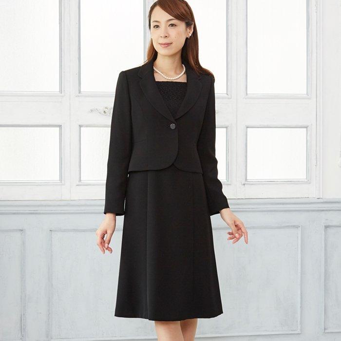 東京ソワールが作るテーラージャケットのブラックフォーマル喪服礼服