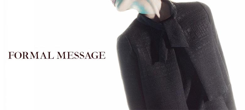 フォーマル専門店東京ソワールの通販サイトフォーマルメッセージ